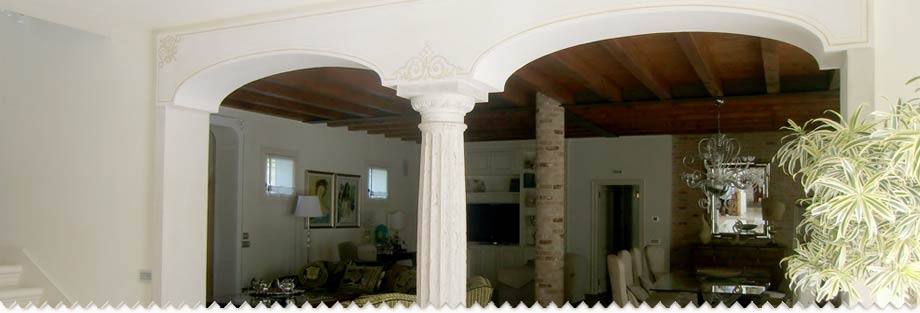 Colonne In Cartongesso Pictures to pin on Pinterest